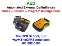Florida AED Sales and CPR AED Training